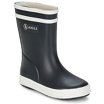 Shoes Children Wellington boots Aigle BABY FLAC Black