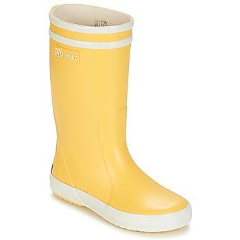 Boots Aigle POPPY Yellow / White 350x350