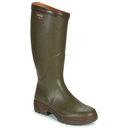 Shoes Men Wellington boots Aigle PARCOURS 2 Kaki