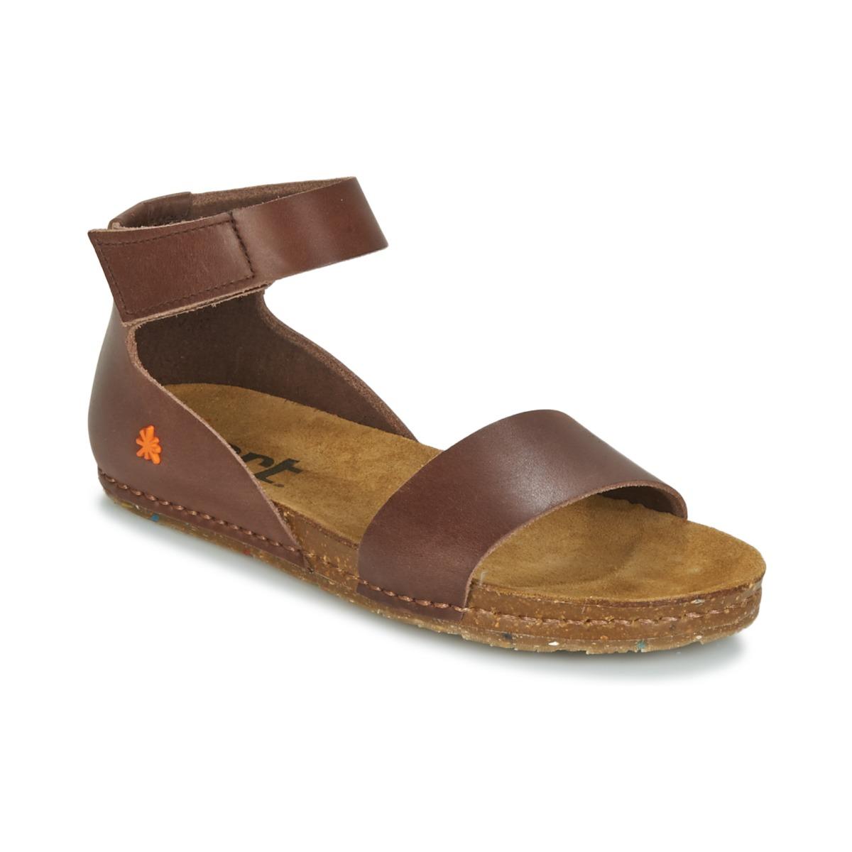 Sandals Art CRETA Brown