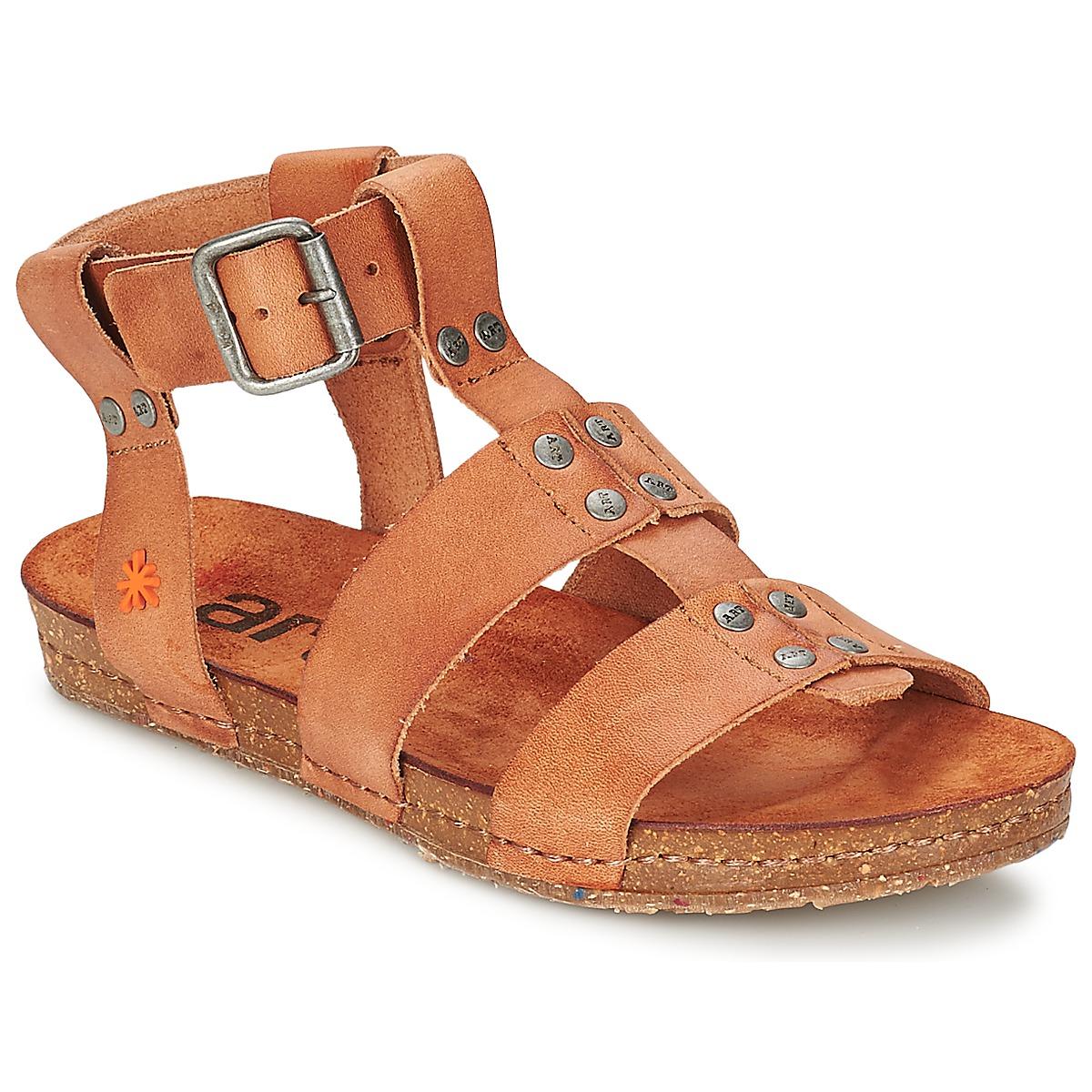 Sandals Art CRETA SPARA CAMEL