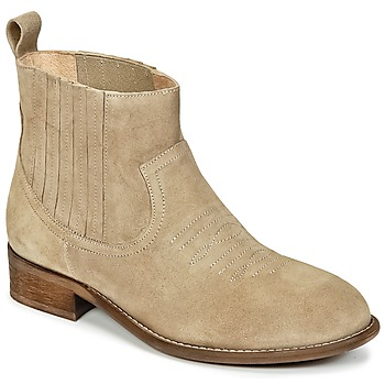 Shoes Girl Mid boots Young Elegant People DEBBYM Beige
