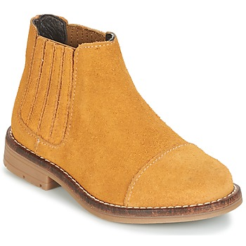 Shoes Girl Mid boots Young Elegant People FILICIAL Brown / Wheat