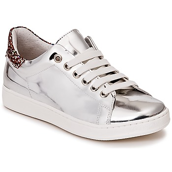 Shoes Girl Low top trainers Young Elegant People EDENIL Silver