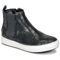 Shoes Girl Mid boots Young Elegant People CLARITAR Black