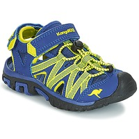 Shoes Children Sports sandals Kangaroos OSATO Blue / Green