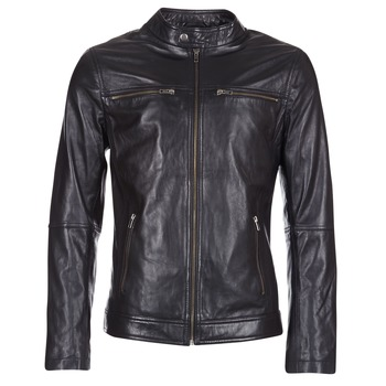 material Men Leather jackets / Imitation leather Casual Attitude IHEXO Black