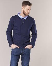 material Men long-sleeved polo shirts Casual Attitude IHEYA Marine