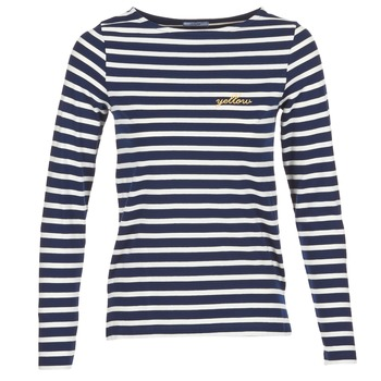 material Women Long sleeved shirts Betty London FLIGEME Marine / White
