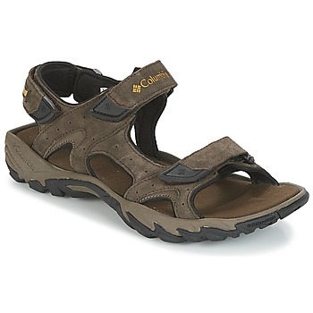 Shoes Men Sports sandals Columbia SANTIAM™ 3 STRAP Brown