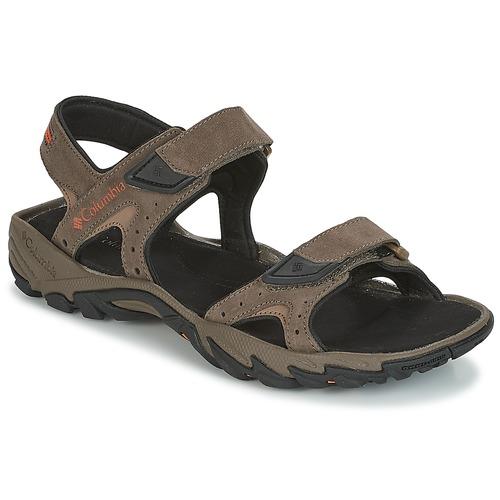 Shoes Men Sports sandals Columbia SANTIAM 2 STRAP Brown