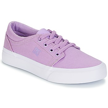 Shoes Girl Low top trainers DC Shoes TRASE TX G SHOE 538 Violet