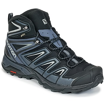 Shoes Men Hiking shoes Salomon X ULTRA 3 MID GTX® Black