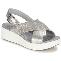 Shoes Women Sandals Timberland LOS ANGELES WIND SLINGBAC Silver