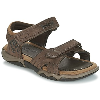 Shoes Children Sports sandals Timberland OAK BLUFFS Brown