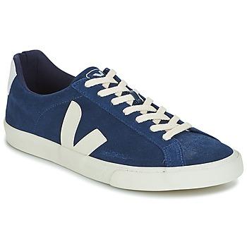 Shoes Men Low top trainers Veja ESPLAR LOW LOGO Blue