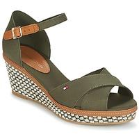 Shoes Women Sandals Tommy Hilfiger ICONIC ELBA SANDAL BASIC Green