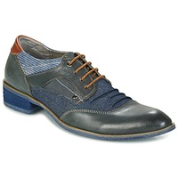 Shoes Men Derby shoes Kdopa LYON Blue / Camel
