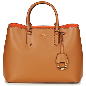 Bags Women Handbags Lauren Ralph Lauren DRYDEN MARCY TOTE Cognac / Orange