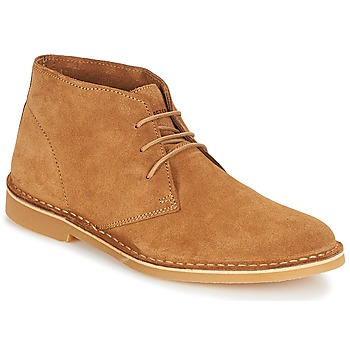 Shoes Men Mid boots Selected SHH ROYCE LIGHT SUEDE BOOT Brown