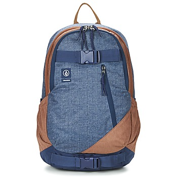 Bags Men Rucksacks Volcom SUBSTRATE Marine / Brown