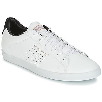 Shoes Women Low top trainers Le Coq Sportif AGATE LO S LEA/SATIN White / Black
