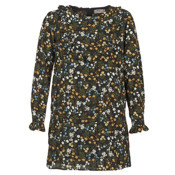 material Women Short Dresses Betty London HOTU Black / Multicoloured