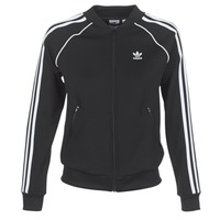 material Women Jackets adidas Originals SST TT Black