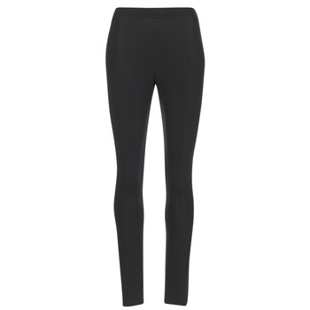 material Women leggings adidas Originals TREFOIL TIGHT Black