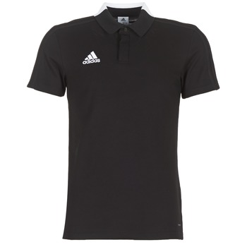 material Men short-sleeved polo shirts adidas Originals CON18 CO POLO Black