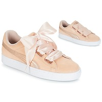 Shoes Women Low top trainers Puma SUEDE HEART LUNALUX W'S Pink