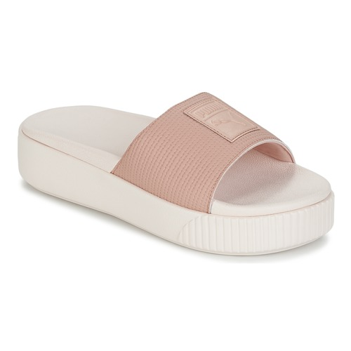 fcd7df6a1a06 Puma PLATFORM SLIDE WNS EP Pink - Fast delivery with Spartoo Europe ...