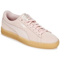 Shoes Women Low top trainers Puma SUEDE CLASSIC BUBBLE W'S Pink