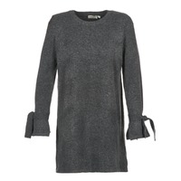 material Women Short Dresses Betty London HETIO Grey