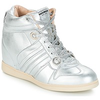 Shoes Women High top trainers Serafini MANHATTAN Silver
