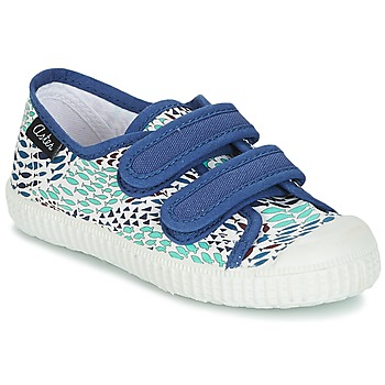 Shoes Boy Low top trainers Aster MICKY White / Blue