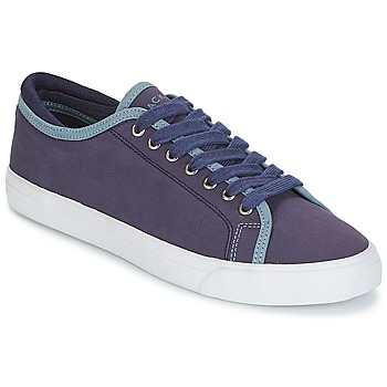 Shoes Men Low top trainers Hackett MR CLASSIC PLIMSOLE Marine