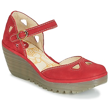 Shoes Women Court shoes Fly London YUNA Red