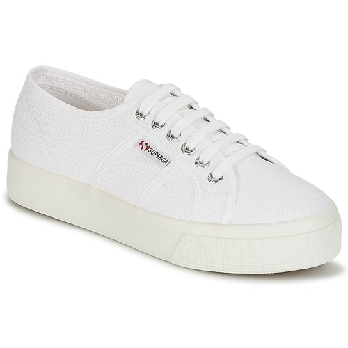 Shoes Women Low top trainers Superga 2730 COTU White