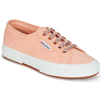 Shoes Women Low top trainers Superga 2750 CLASSIC SUPER GIRL EXCLUSIVE Pink