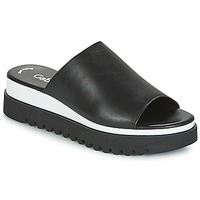 Shoes Women Mules Gabor SORIEUX Black / White