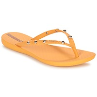 Shoes Women Flip flops Ipanema WAVE GLAM Yellow