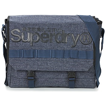 Bags Messenger bags Superdry MERCHANT MESSENGER BAG Marine