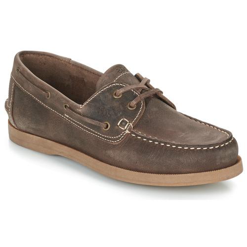 Shoes Men Boat shoes TBS PHENIS Brown
