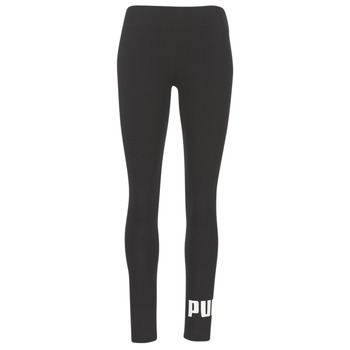 material Women leggings Puma ESS NO.1 LEGGINGS W Black