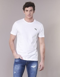 material Men short-sleeved t-shirts Puma ESS TEE White