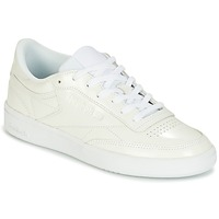 Shoes Women Low top trainers Reebok Classic CLUB C 85 PATENT White