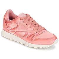 Shoes Women Low top trainers Reebok Classic CLASSIC LEATHER SATIN Pink
