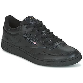 Shoes Low top trainers Reebok Classic CLUB C 85 Black