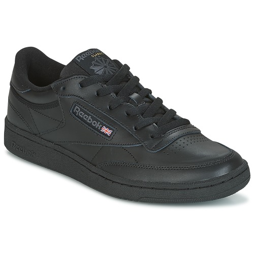 alfiler Increíble Sinis  Reebok Classic CLUB C 85 Black - Fast delivery | Spartoo Europe ! - Shoes  Low top trainers 79,95 €